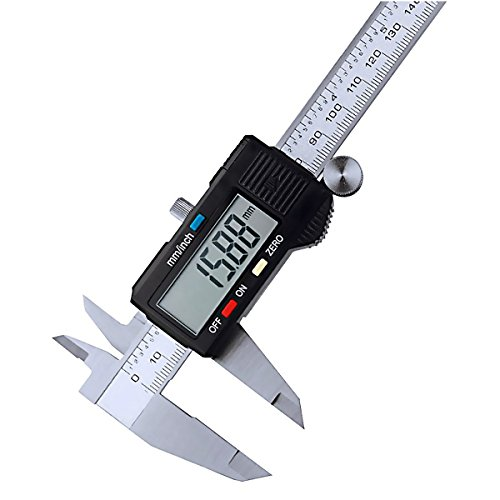 Drillpro Digital Messschieber, 0.01MM/0.05IN LCD