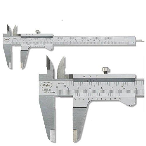 Mahr Taschen Messschieber 150 mm MarCal 16FN, Ablesung: 0,05 mm mit Feststellschraube 4100400