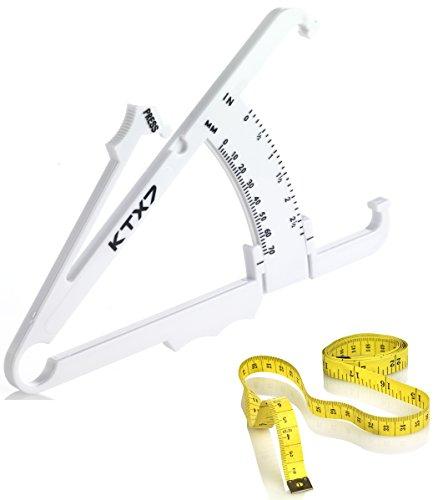 KTX7® Körperfettmessgerät V.2 + 3x Maßband inkl. Onlineprogramm