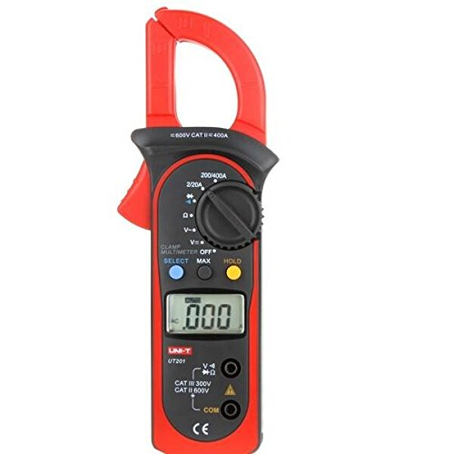 mark8shop-Messzange UNI LCD Digital Auto Range Clamp Multimeter