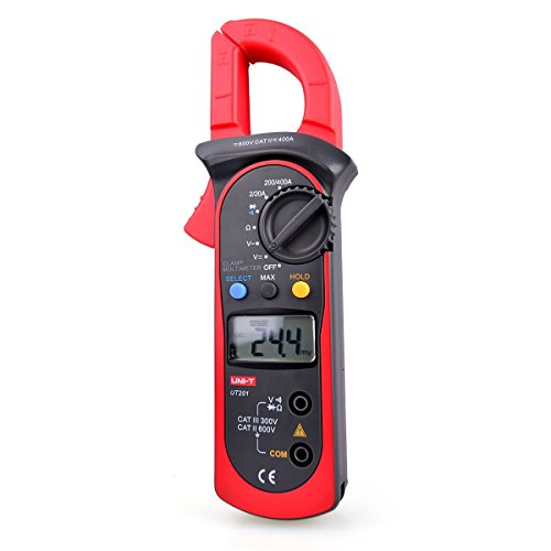 UNI Zangenstrommeter AC/DC Digital Handheld Strommesszange Multimeter