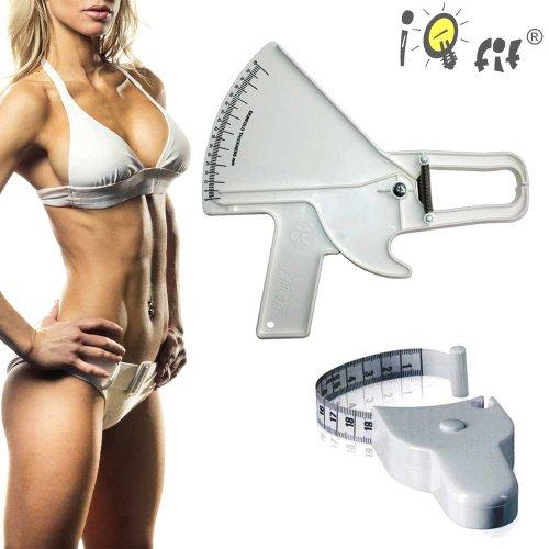 Slimguide Eco Bundle: Körperfett-Zange + Body Maßband